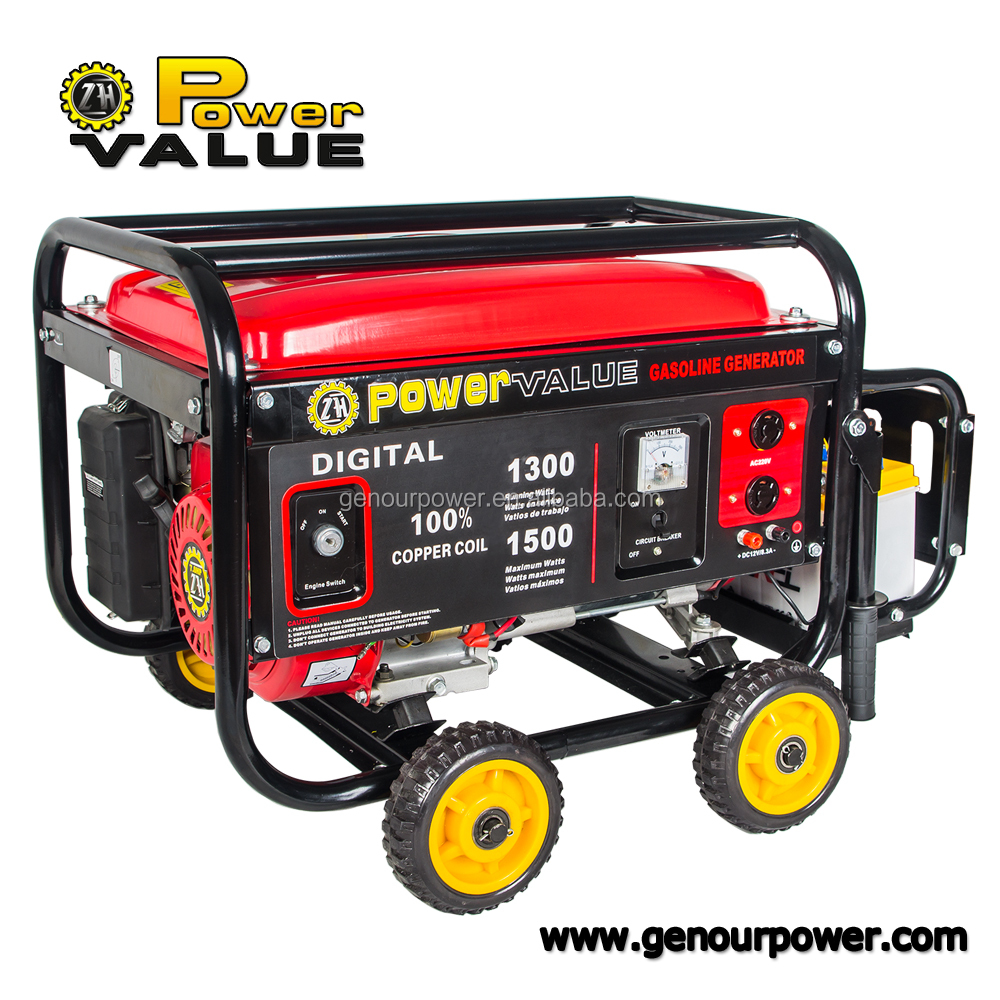 Power Value Taizhou ZH2500 single phase mahindra generators price 2kw Generator