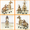 TOP sale CE big toy horse,battery operated toy horse,electric horse toy