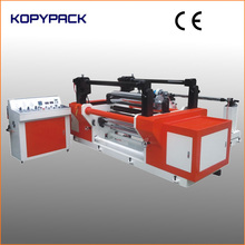 automatic slitting rewinding machine for film, tape, foil, fabric and paper