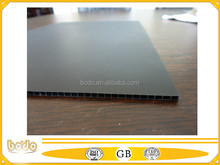 Cheap black recycled corrugated plastic sheet, PP plastic sheet