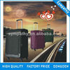 new style polyester korea luggage with retractable wheels