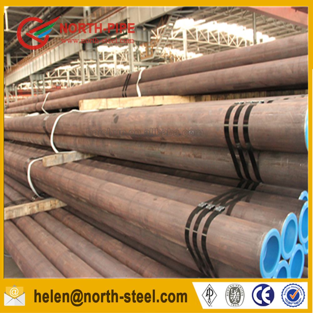 hot <strong>sale</strong> free chinese manufacturing DIN1629 st52 seamless steel pipe