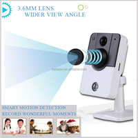 Security Camera Night Vision C8130 Wireless IP Mini Card Smart Indoor Suveillance Alarm System 720P Video Android/iOS/PC CMS