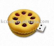 Biscuit shaped USB Flash Drive,Food USB Disk