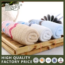 2015 China Wholesale Promotional Soft Face Towel With High Quality 100% Cotton