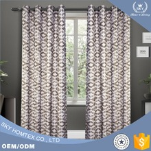 China Supplier Jacquard Curtain, Ready Made Curtain For Living Room, Bedroom