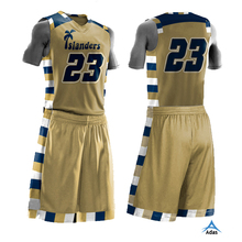 Custom basketball uniform design, OEM basketball jersey and shorts