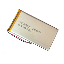 High capacity 10000mAh Li-polymer battery China manufacturer 3.7V battery