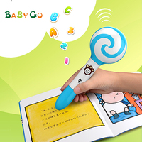 Children electronic lovely Japanese audio talking pen with book