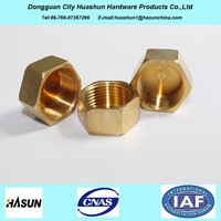 OEM Brass Components, Brass Gas Valve Parts, Brass Connectors CNC Turning Parts