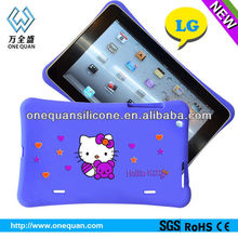 silicon soft case for lg ,silicone protective case for nook tablet