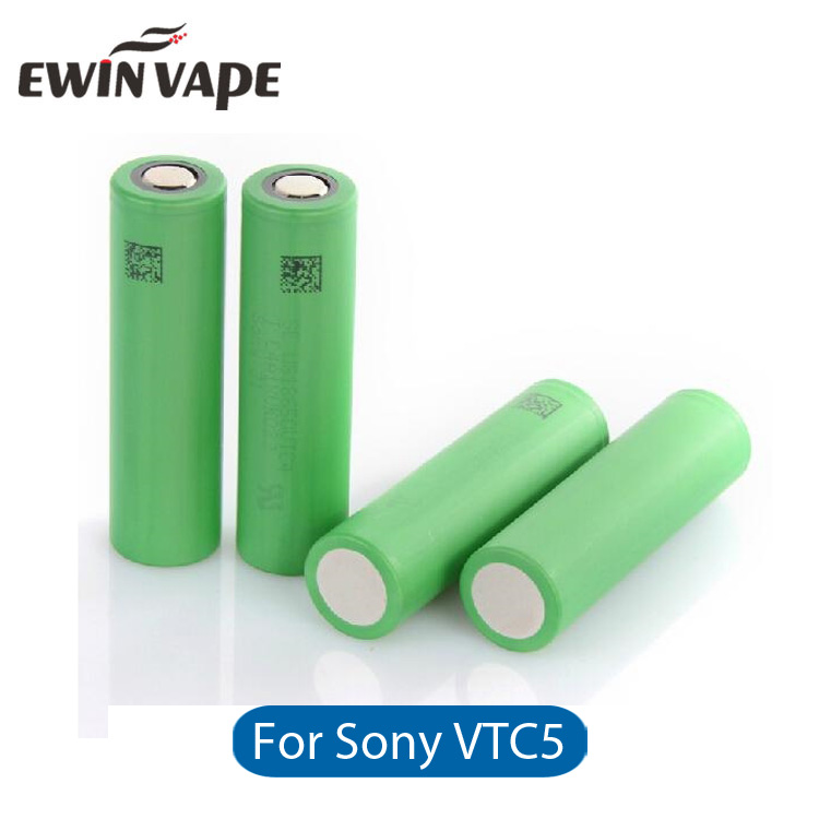 100% Original 2600mAh 18650 Rechargeable Ecig Vaporizer Vape Pen VTC5 <strong>Battery</strong> for Sony vtc5