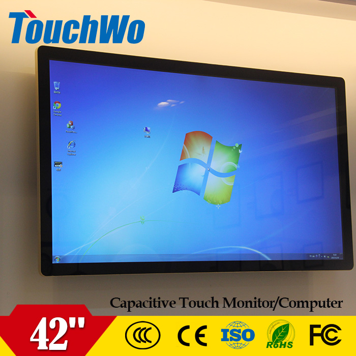 42 inch full HD LCD Video wall display wall mount monitor