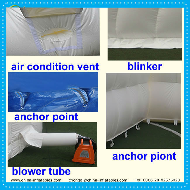 Chongqi cheap clear inflatable dome tent for events