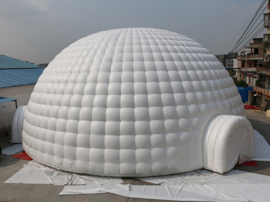 Large Inflatable Tennis Court Inflatable Sports Dome Soccer Tents For Sale