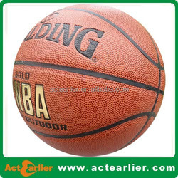 Leather Ball Material and Ball Type pu laminated basketball