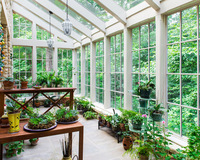 Customized Sun Room/Winter Garden/Glass House With Insulated Glass