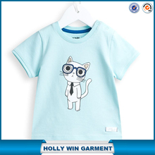 Bulk clothing for boys animal printed t-shirts factory China