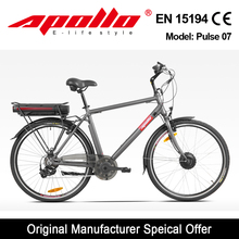 2015 Hot Apollo cheap electric bike 28 inch tyre city bike made in China pulse07