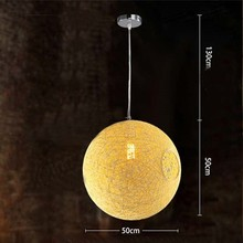 String Pendant Lamp George Nelson LARGE Ball Bubble Pendant Lamp