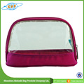 China Manufacturer Wholesale New Style Pvc hand zipper Makeup Bag