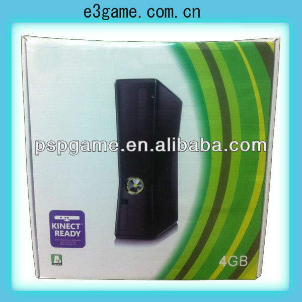 video game console for xbox360 slim games