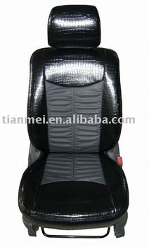 pu car seat cover/pu automobile seat cover