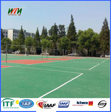 outdoor and indoor Polyurethane volleyball sport court flooring