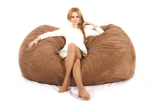 Dorm use sitting foam bean bag lounge supplier
