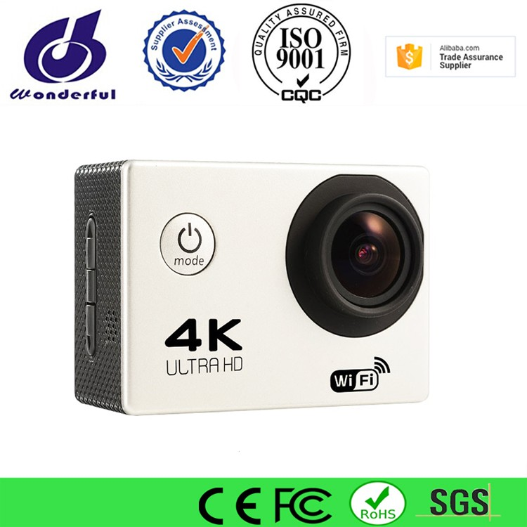 2017 Sports Camera Newest 4k/30fps Wifi Cam With Screen 2.0inch Action Camera Waterproof DV