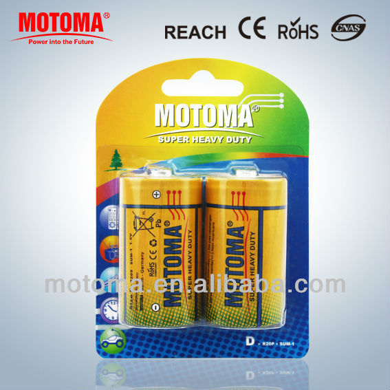um-1 1.5v carbon zinc dry batteries cell