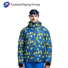 Quality-Assured New Fashion Winter Camo Ski Snowboard Jacket
