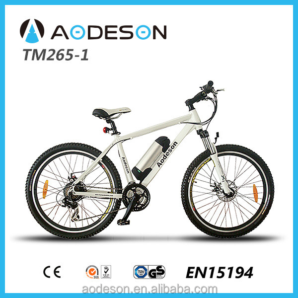 MTB style Suntour fork mountain electric bike with 21speed derailleur(TM265-1)