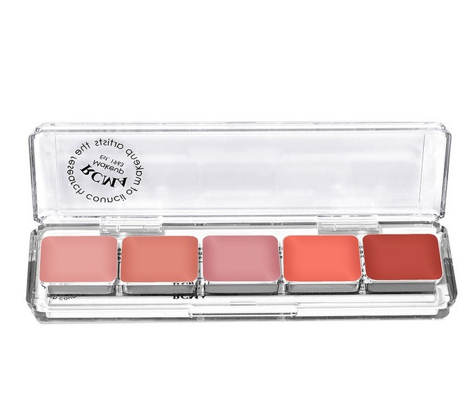 OEM COSMETIC MAKEUP explosion 5 color Transparent rectangle eyeshadow disk advance the <strong>eyes</strong> of the original first made