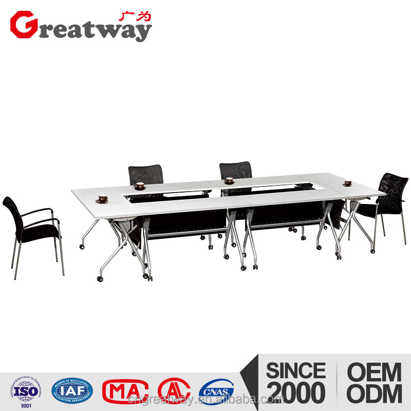 Meeting room metal folding mobilier de bureau chine for markets
