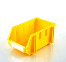 The plastic storage box, spare parts bin with good quality