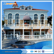 Earthquake resistant system steel eps heat insulated house
