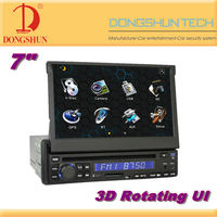 DS-8200 7 inch TFT Screen 1 DIN car dvd player with Detachable Panel / car audio player with USB/SD