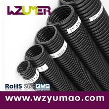 WZUMER China Flexible Acid Resistant Corrugated PP V0 Pipe for Medical Arms