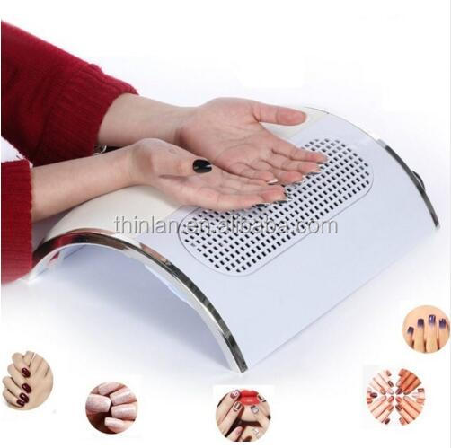 China 2017 new arrivals Non Noise Electric sunflower nail table draft nail dust extractor vacuum nail dust collector with 3 fans