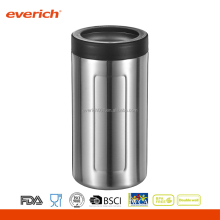 Everich 12oz 16oz customized double wall stainless steel cola holder can cooler customized