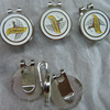 hot sailing charm golf hat clip with ball markers for souvenir