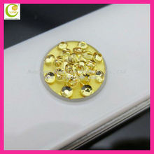 High Quality Hottest Bling Crystal Rhinestone Home Button Sticker for iPhone 4 4S/iPad 2&3/iPod Touch