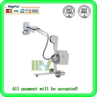 100mA radiography mobile x ray equipment MSLMX09