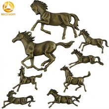 modern art decorative horses wall hanging for sweet home decor New design Animal horse Wall Decoration