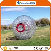 Customized pvc/tpu inflatable zorb ball for sale fluorescent zorb ball
