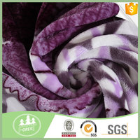 Most Popular 100% Polyester Anti-Pilling Stretch Flannel Fabric
