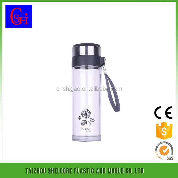 BPA Free Space Plastic Mineral Water Bottle Sports Bottle
