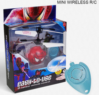 Colourful Wireless Remote Control Flying Bird New Design RC spider man mini flyer