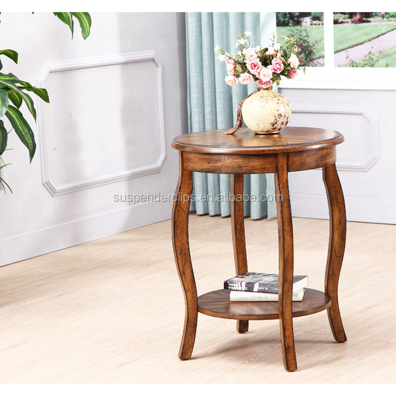 Coffee office wedding wooden tea round living room furniture tables for sale